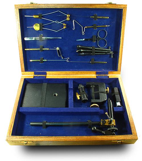 купить набор инструментов для вязания рыболовных мушек